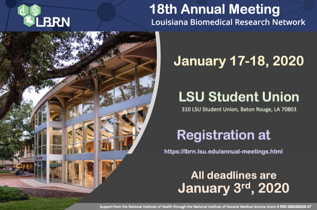 18th LBRN Annual Meeting
