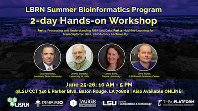 LBRN Summer Bioinformatics Workshop