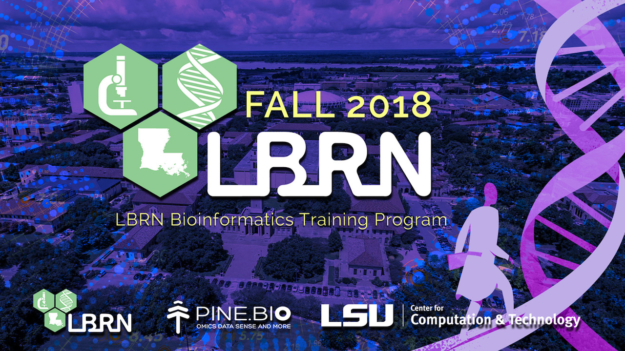 LBRN/CCT - Pine Biotech Fall/Winter Bioinformatics Program