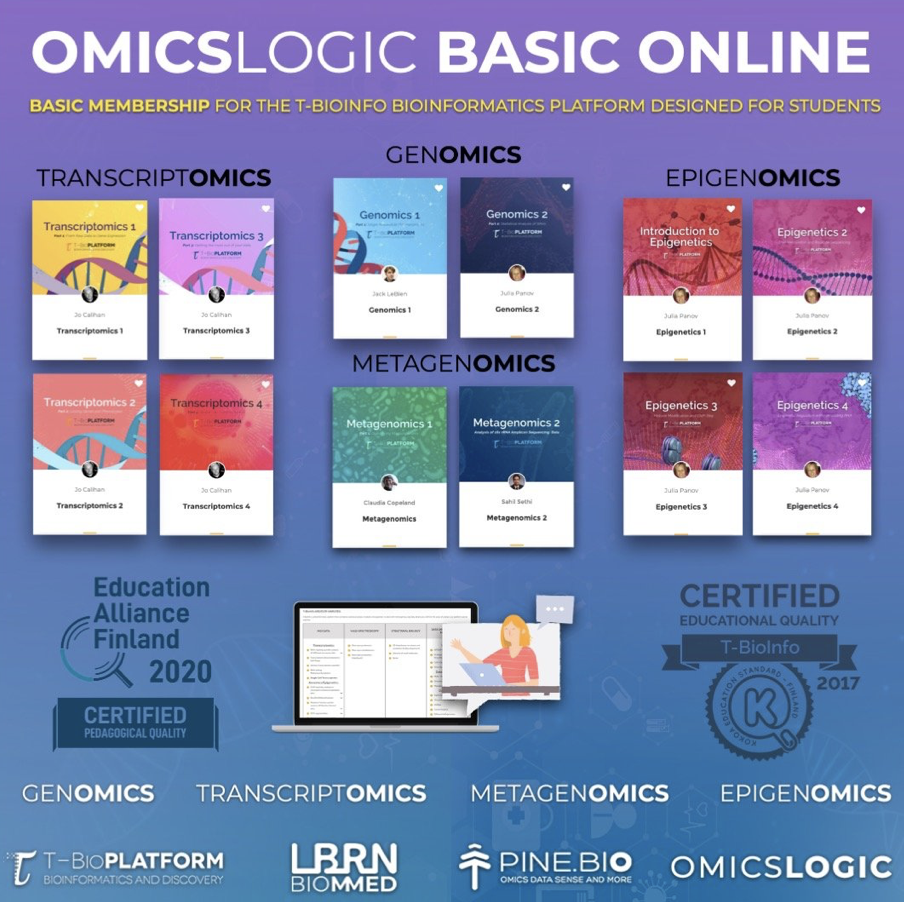 LBRN Omics LOGIC Bioinformatics Training